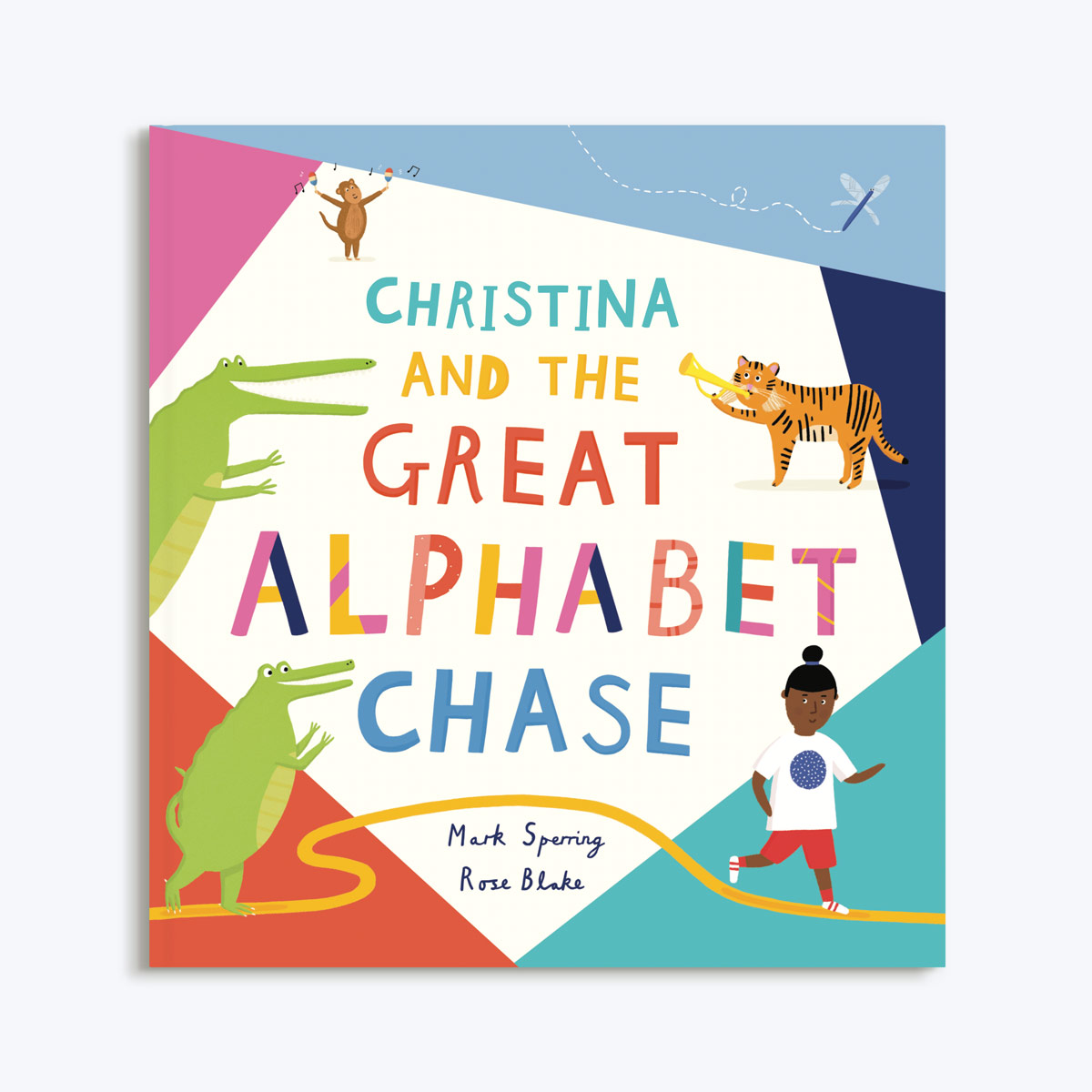 d679b429ab The Great Alphabet Chase | ABC Learn To Read Book | Papier