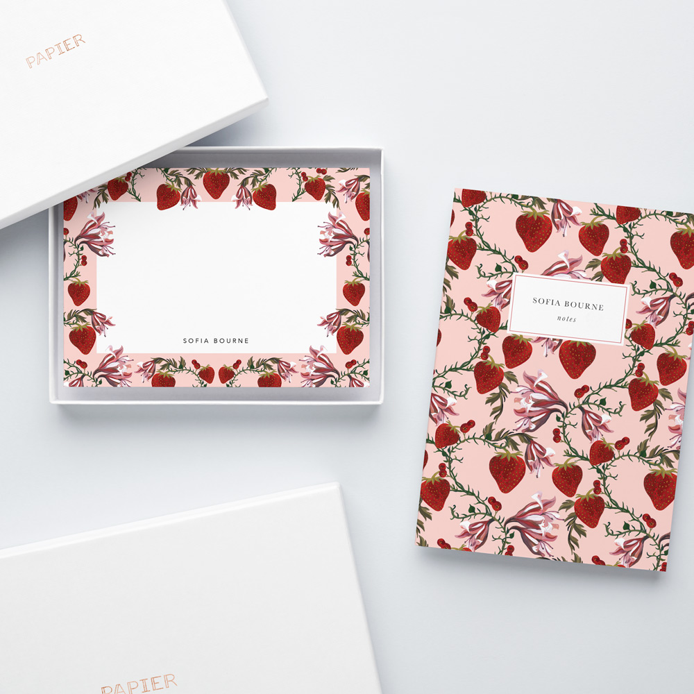 02.19 productimagery bundles booknotecard strawberrydreams