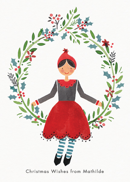 Wreath Girl