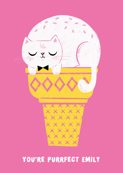 Ice Cream Cat