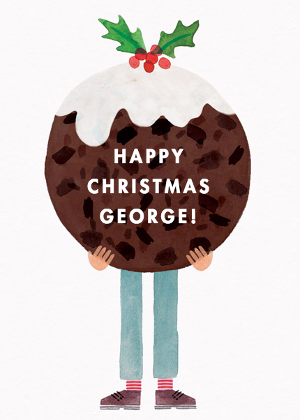 Christmas Pudding Boy