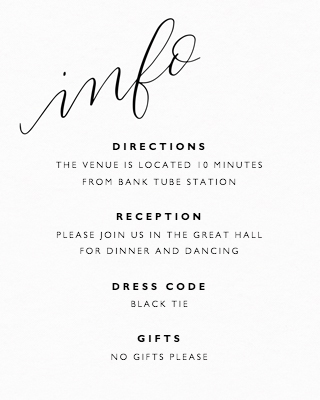 You're Invited Calligraphy