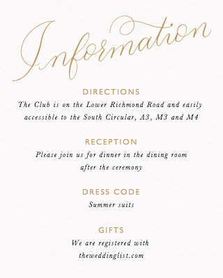 The Wedding Of Calligraphy Gold