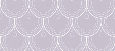 Deco Purple Scallop