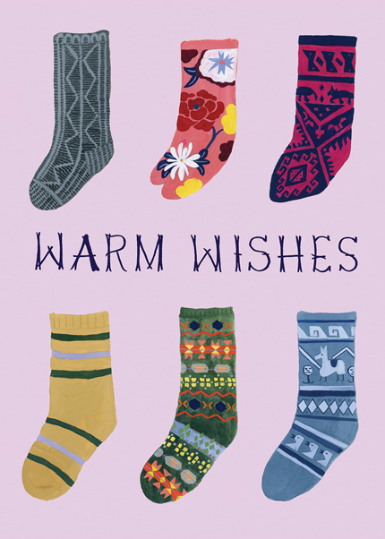 Warm Wishes Socks