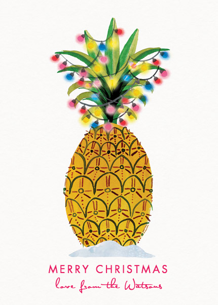 Christmas Pineapple