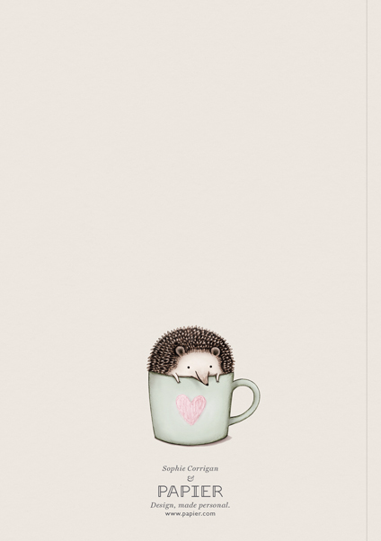 Hedgehog In A Mug