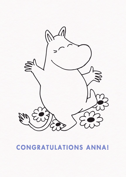 Happy Moomintroll