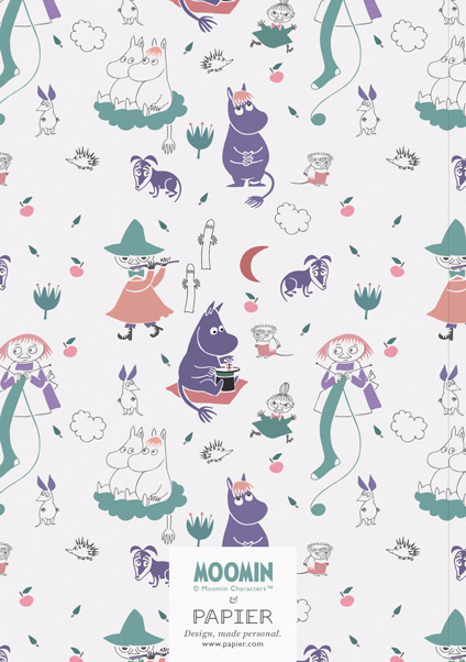 Purple Moomins