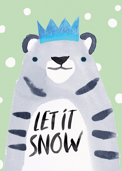 Let It Snow Leopard