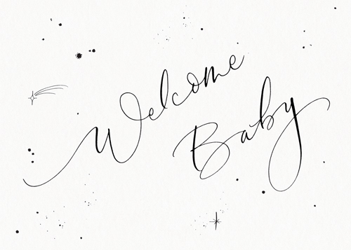 Welcome Baby Starry
