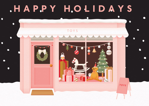 Happy Holidays Toy Shop