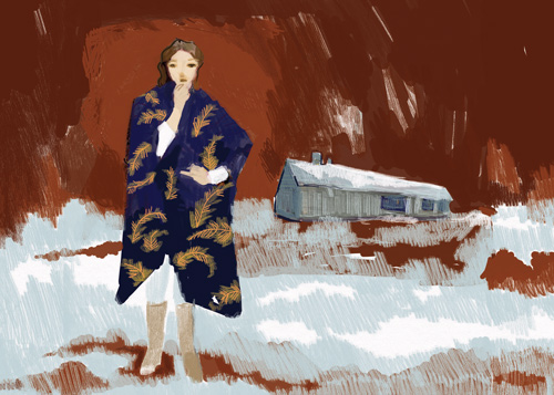 Woman in Coat
