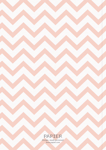 Peach Chevrons