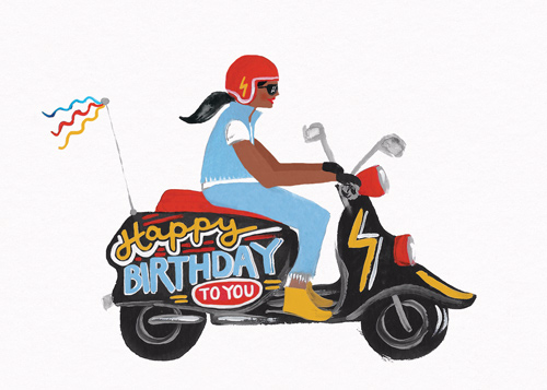 Birthday Scooter