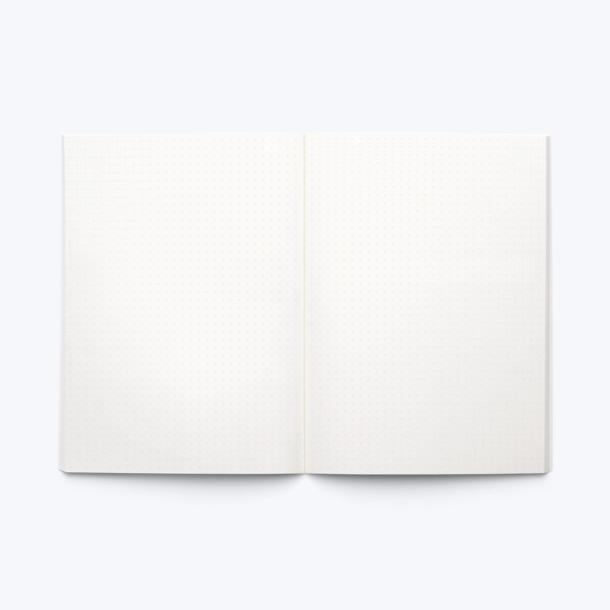 Dotted notebook blank in final