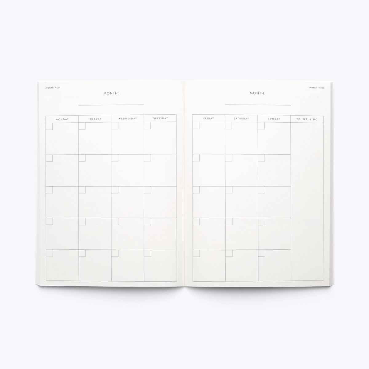 Planners blank in george final gb month %281%29