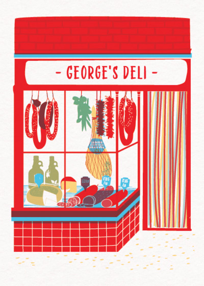 My Deli | Personalised Birthday Card