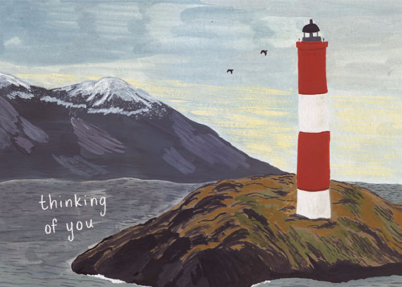 Lighthouse | Personalised Greeting Card