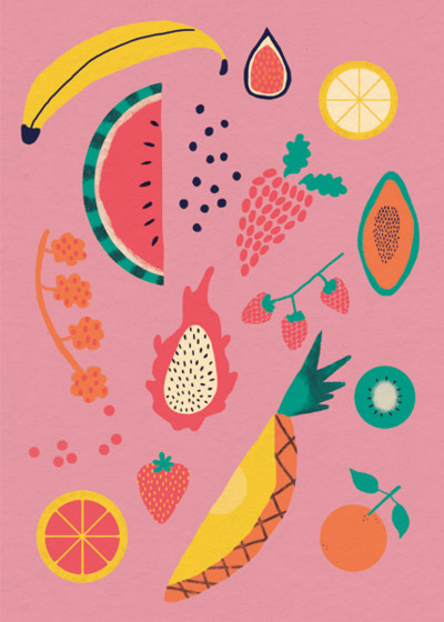Fruity | Personalised Birthday Card