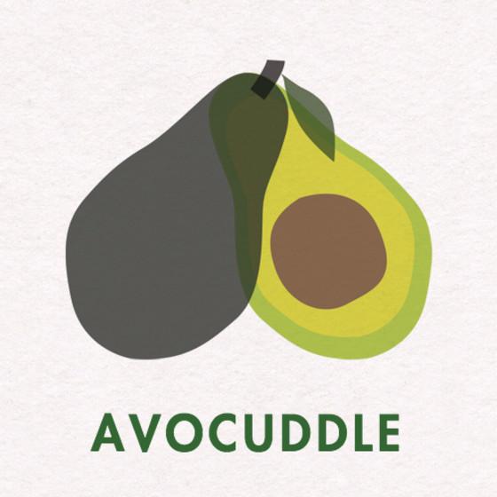 Avocuddle | Personalised Greeting Card