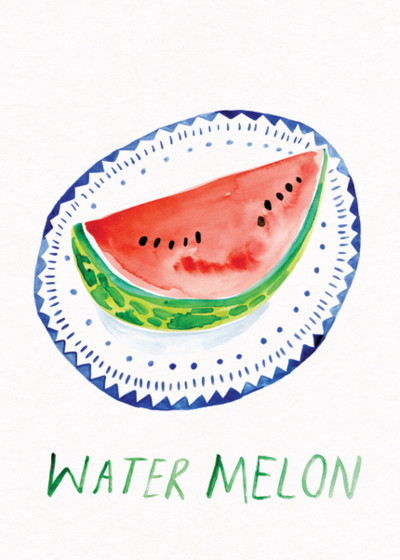 Watermelon | Personalised Greeting Card