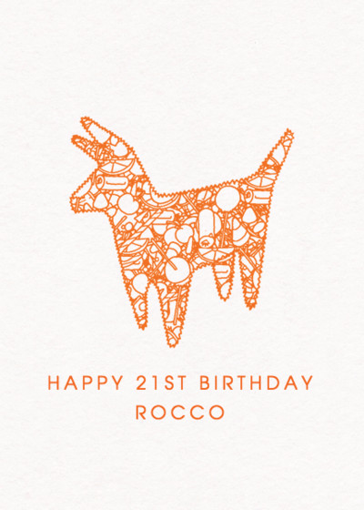 Piñata | Personalised Birthday Card