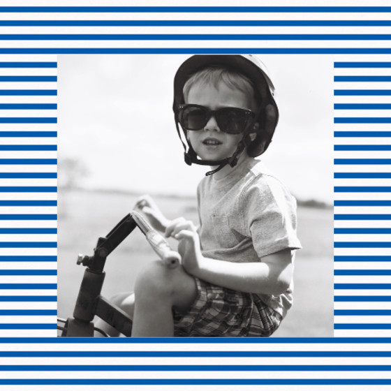 Sailor Stripes | Personalised Birthday Card