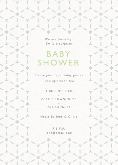 Asterisk | Personalised Party Invitation