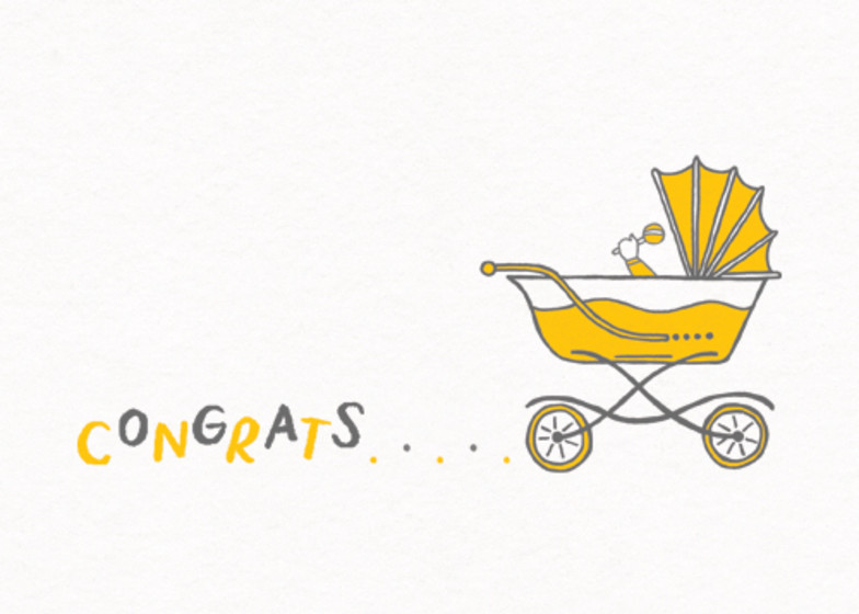 New Arrival | Personalised Congratulations Card