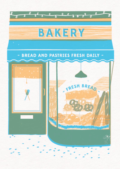 The Bakery | Personalised Birthday Card