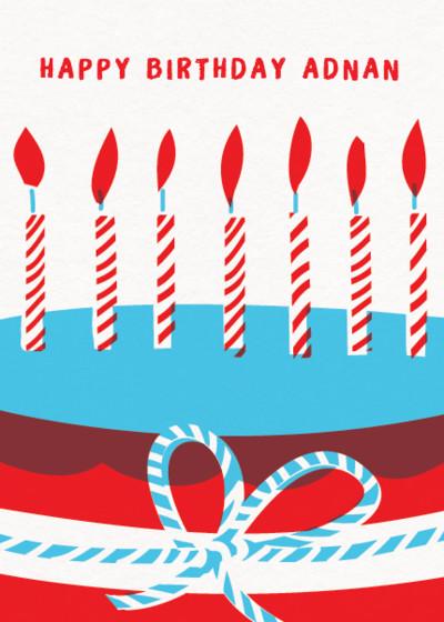 Make a Wish | Personalised Birthday Card