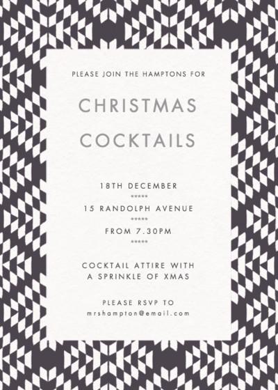 Jackson   Personalised Party Invitation