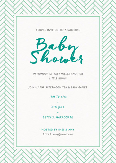 Remy | Personalised Party Invitation