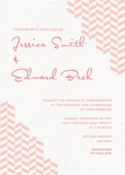 Freccia | Personalised Wedding Invitation
