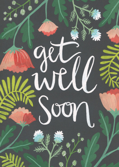 Get Well Soon | Personalised Greeting Card