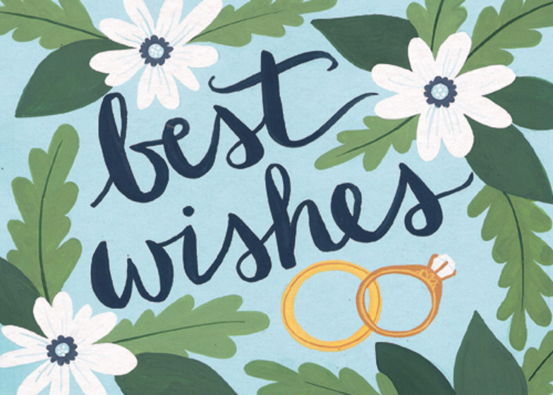 Best Wishes | Personalised Congratulations Card
