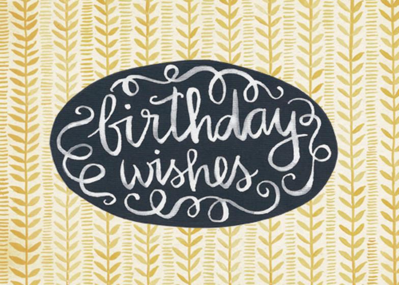Birthday Wishes | Personalised Birthday Card