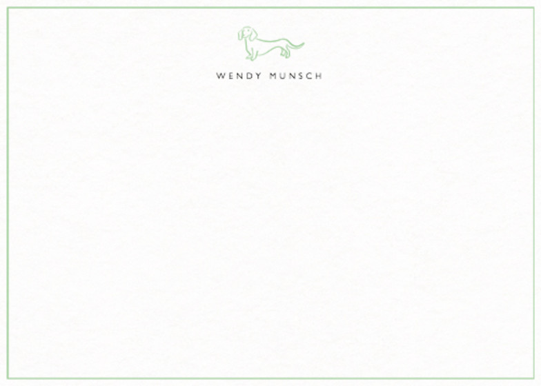Dachshund | Personalised Stationery Set