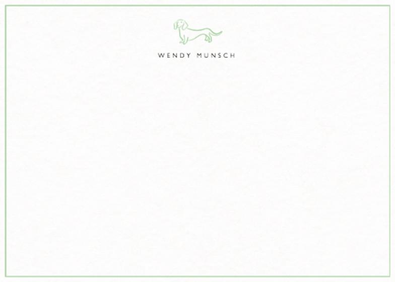 Dachshund | Personalised Stationery Set