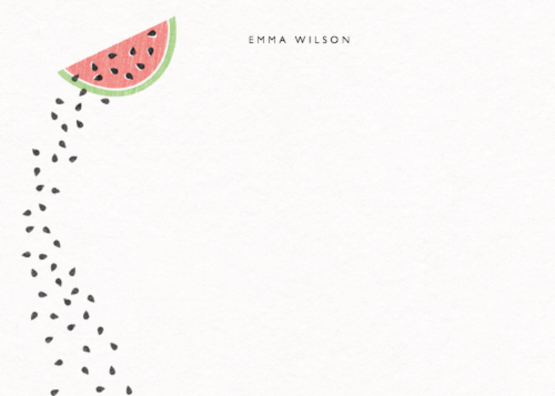 Watermelon | Personalised Stationery Set
