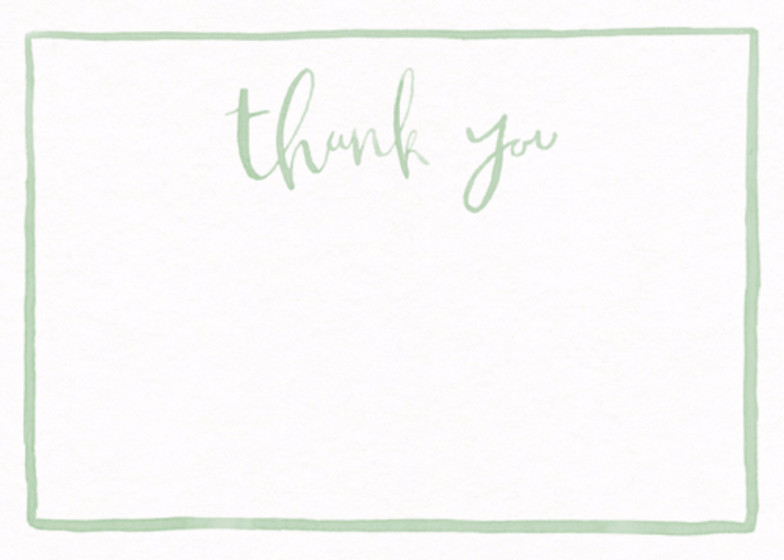 Watercolour Thank You | Personalised Stationery Set