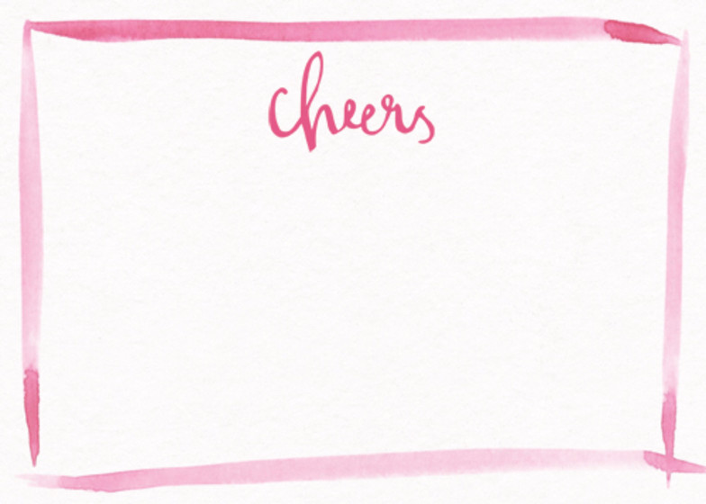 Cheers | Personalised Stationery Set