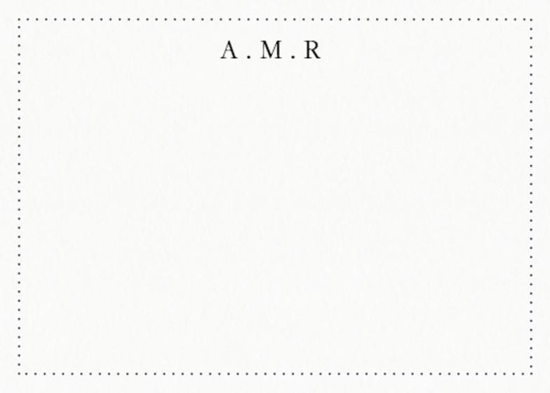 Simple Border | Personalised Stationery Set
