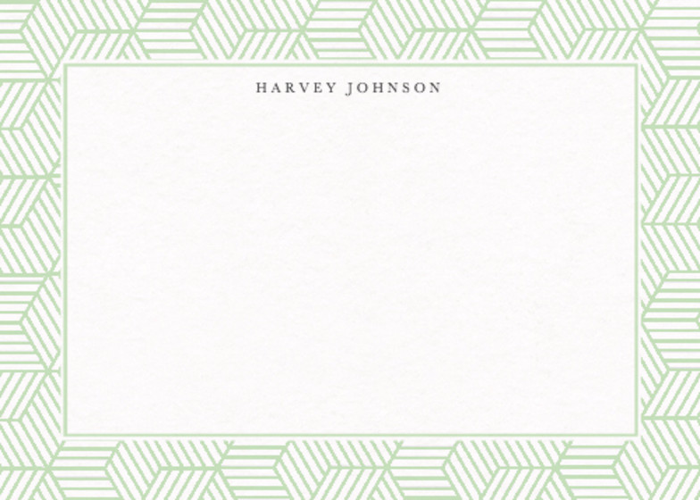Green Deco | Personalised Stationery Set