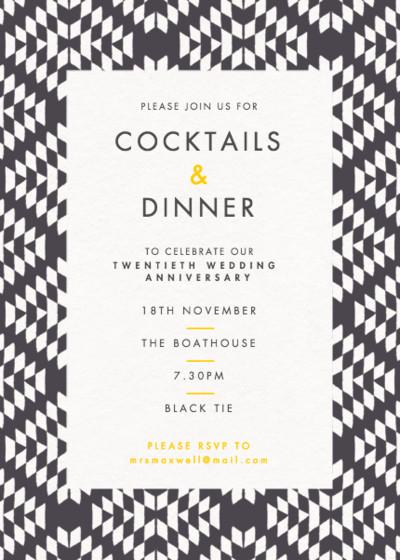 Jackson | Personalised Party Invitation