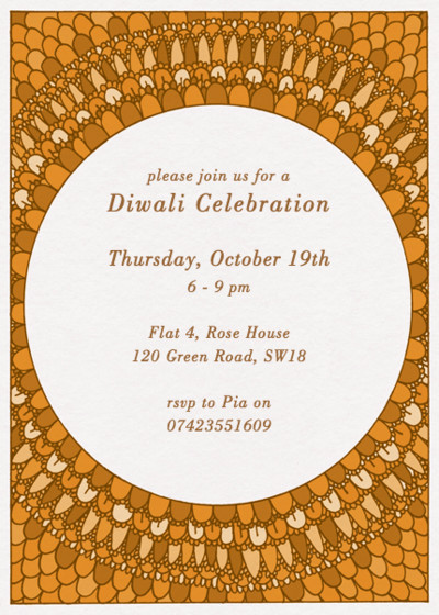 Diwali Phoenix | Personalised Invitation