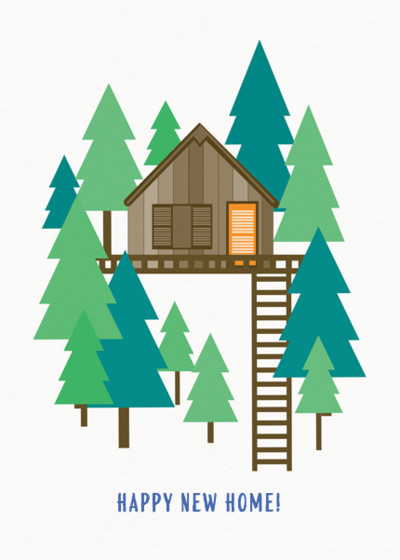 Treehouse | Personalised Congratulations Card