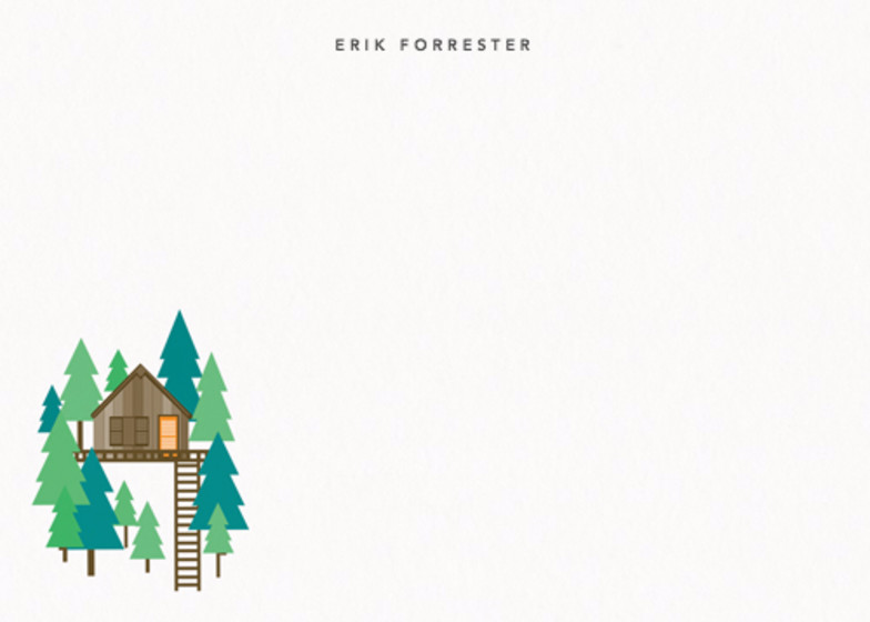 Treehouse | Personalised Stationery Set