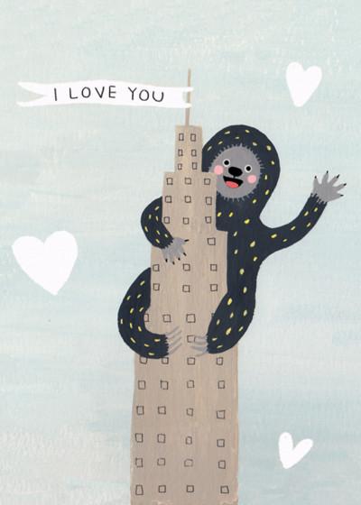 King Of Love | Personalised Greeting Card